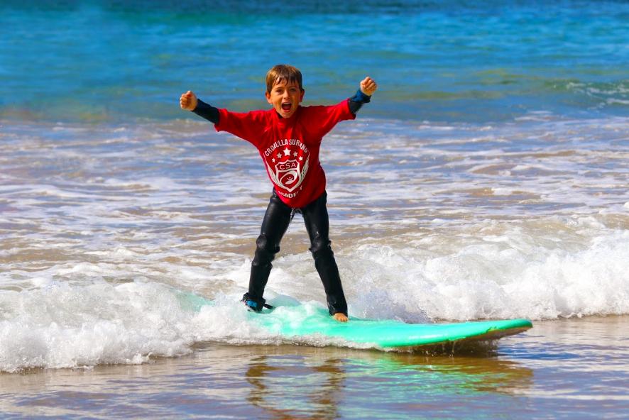 Cronulla Surfing Academy Kids Surfing Lessons