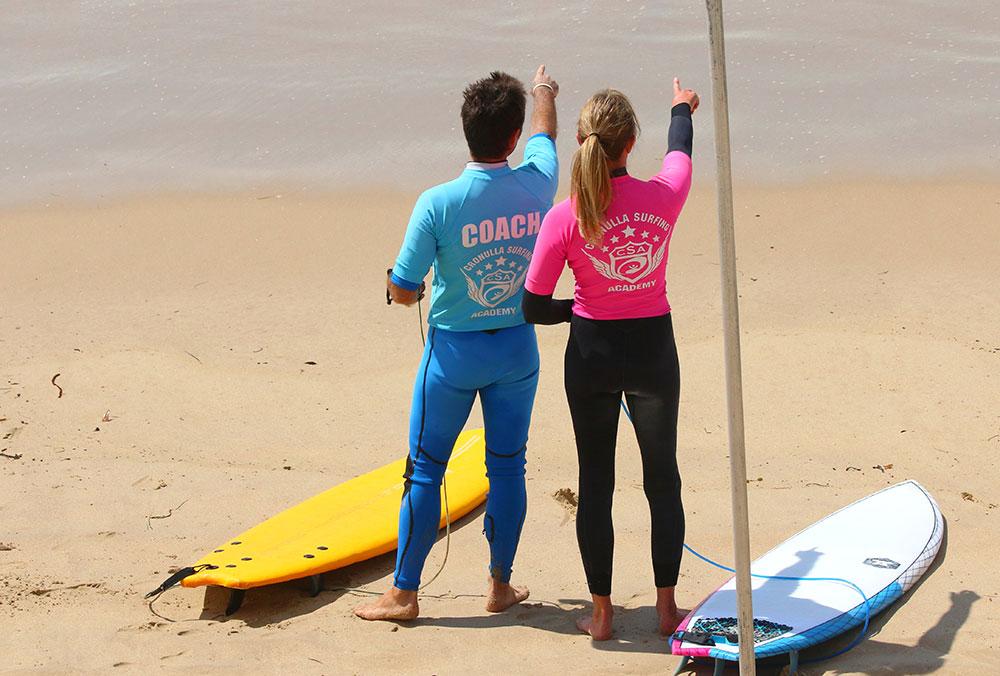 Cronulla Surfing Academy Private Cronulla Surfing Academy