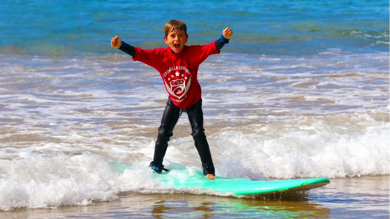 Cronulla Surfing Academy Kids Surfing