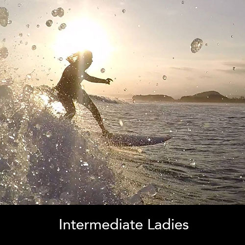 Ladies Cronulla Surfing Academy
